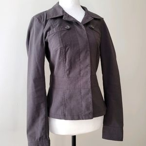 10/$35 MEXX concealed button jacket